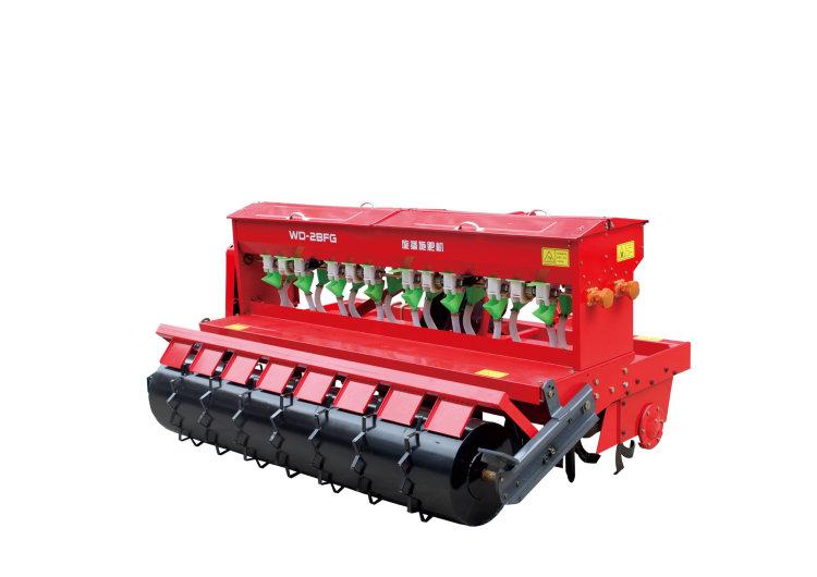 小麦播种机视频_沃得WD-2BFG-8/8-200旋播施肥机-沃得旋播施肥机-报价、补贴和图片