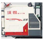 沃得銳龍4LZ-5.0E聯合收割機大容量糧倉