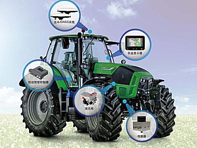 DEBONT(德邦大为)北斗导航农机自动驾驶系统