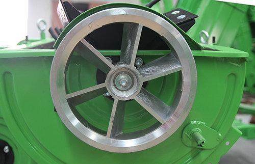 扇形脱粒皮带轮