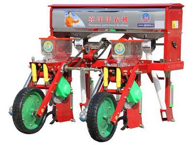 喜洋洋2BYCF-2玉米施肥播種機