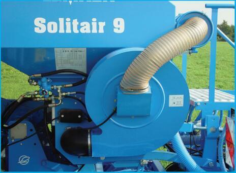 德国雷肯(LEMKEN)索力特Solitair 8气力式精量播种机细节