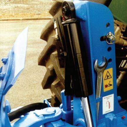 德國雷肯(LEMKEN)歐派EurOpal 9懸掛式翻轉犁液壓翻轉裝置