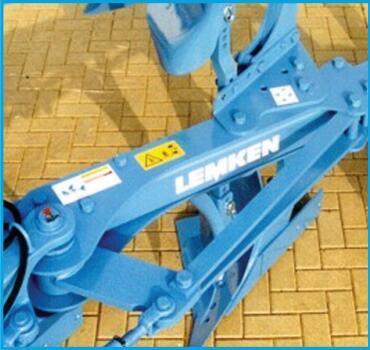 德國雷肯(LEMKEN)歐派EurOpal 9懸掛式翻轉犁異型鋼犁梁