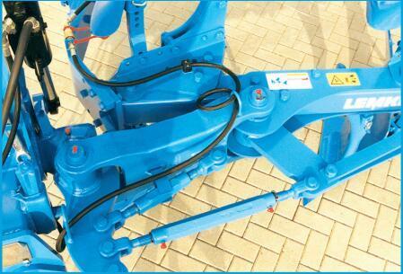 德國雷肯(LEMKEN)歐派EurOpal 9懸掛式翻轉犁奧普塊克Optiquick調整裝置