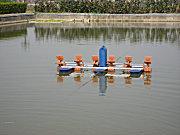 渔超YC-2.2KW三相380V水车式增氧机