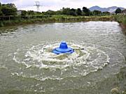 渔超SW-0.75KW三相380V涌浪式增氧机