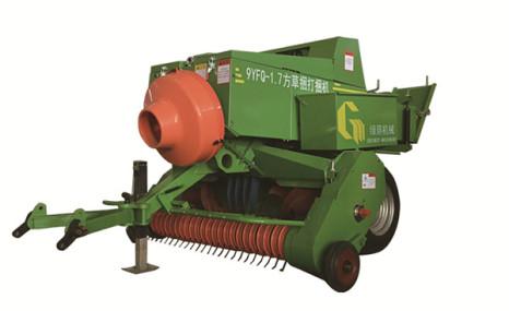 綠蔭9YFQ-1.7方草捆打捆機
