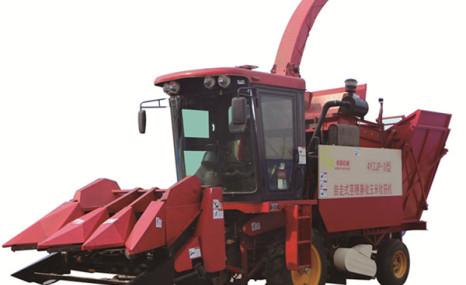 绿荫4YZJP-3茎穗兼玉米收获机