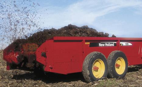纽荷兰145撒肥机