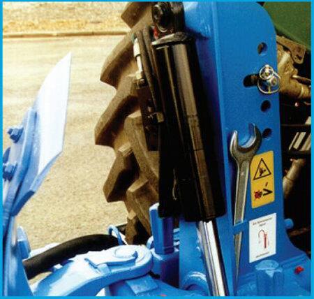 德國雷肯(LEMKEN)優威爾Juwel8懸掛式翻轉犁液壓翻轉裝置