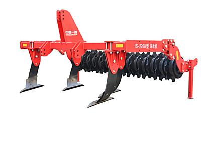 东方红1S-220W偏柱式深松机