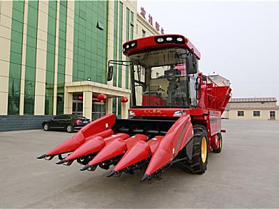 天人小四行4YZB-4A(TR9988-4570)玉米聯合收割機