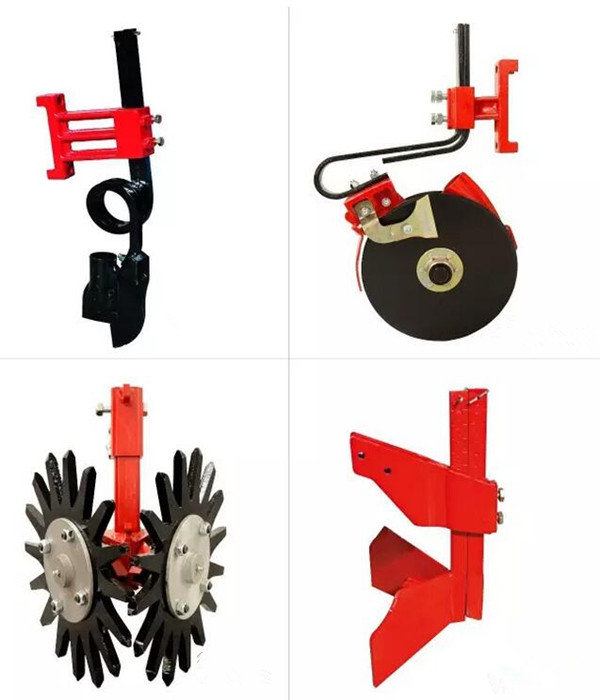 单圆盘式、斧头式、清茬式、平土式