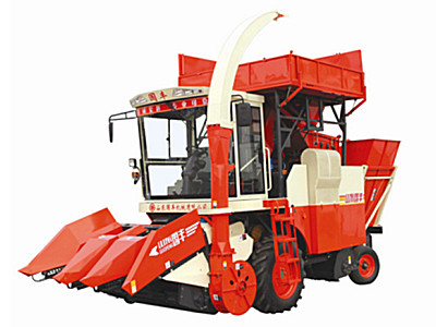 山东国丰4YZQP-3型自走式穗茎兼收玉米收获机