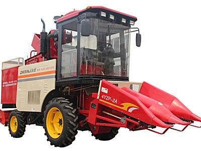 志鑫4YZP-2A玉米收获机