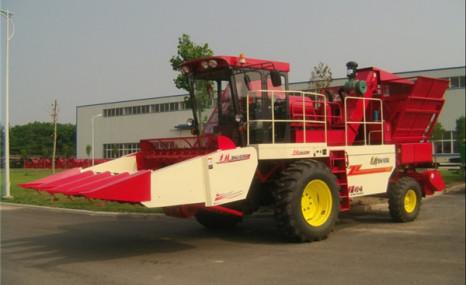 中聯收獲4YZ-4A自走式玉米收獲機