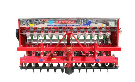 河北農哈哈2BXF-12動力合墑小麥播種機