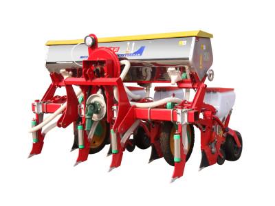 农哈哈2BYQFH-4免耕气吸玉米播种机