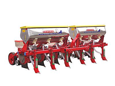 农哈哈2BYFSF-4仿形勺轮玉米播种机