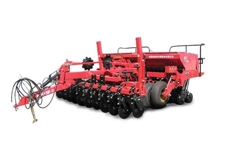 新疆牧神2BMF-24分體式免耕施肥播種機