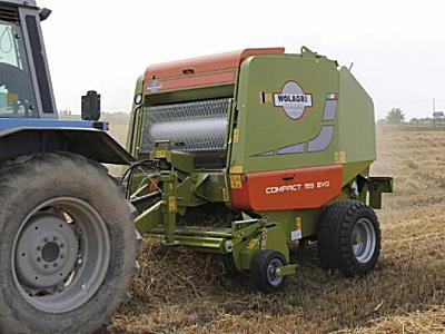 德邦大為tonutti COMPACT 125-155 EVO Cut System 圓捆機