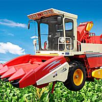 双箭王4YZ-4型玉米收获机