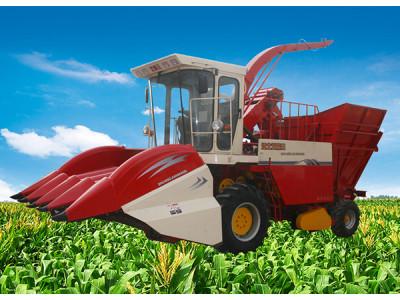 双箭王4YZQ-4型穗茎兼收型玉米联合收获机