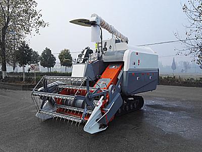 金兴金阳豹4LZ-4.0Z纵轴流联合收割机