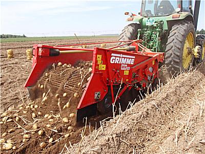 GRIMME(格立莫)WH200马铃薯集条式收获机