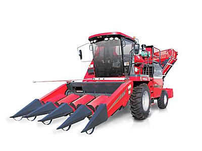 牧神4YZB-4型自走式玉米联合收获机(还田型)