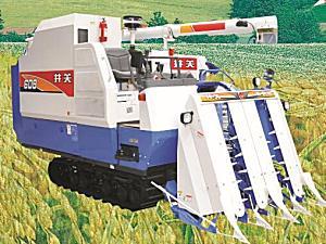 东风井关4LBZ-145D(HF608G)履带式半喂入联合收割机