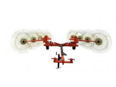 玛斯特8盘型牵引式指盘搂草机