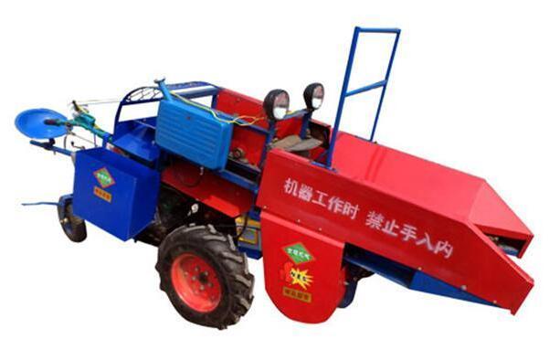 世超玉米收获机