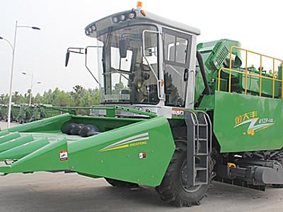金大丰4YZP-5B玉米收获机