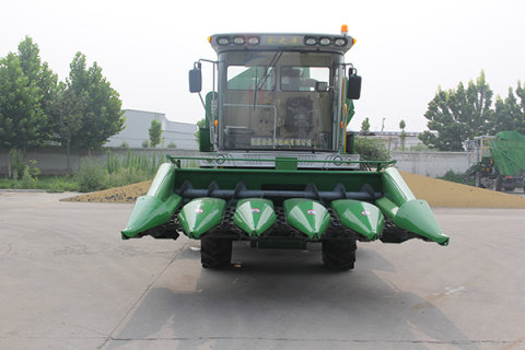 金大丰收获机的价格_金大丰4YZP-5B玉米收获机-金大丰玉米收获机-报价、补贴和图片
