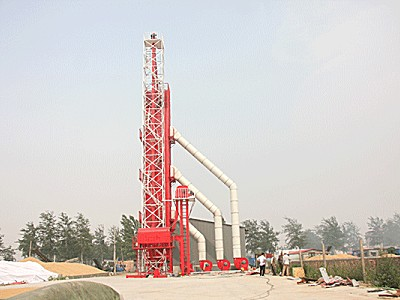 农哈哈5HT系列连续式烘干塔