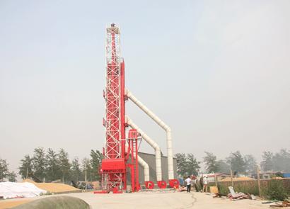農哈哈5HT系列連續式烘干塔
