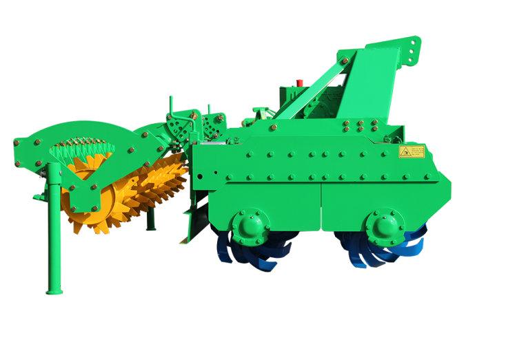 大华宝来大中箱叉式双轴系列旋耕机