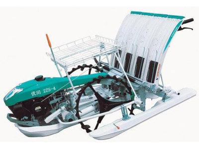 优田2ZS-4手扶式水稻插秧机