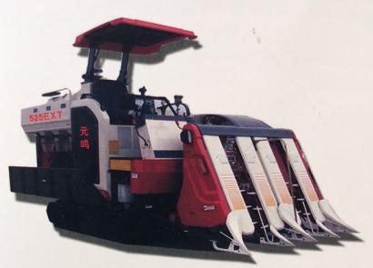 元鳴4LBZ-140(525EXT)履帶式半喂入聯合收割機