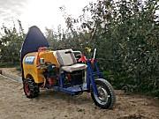 果哈哈G6T三轮塔式果园打药机