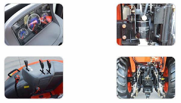 芬美得新智904轮式拖拉机细节