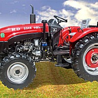 瑞得RD504E輪式拖拉機