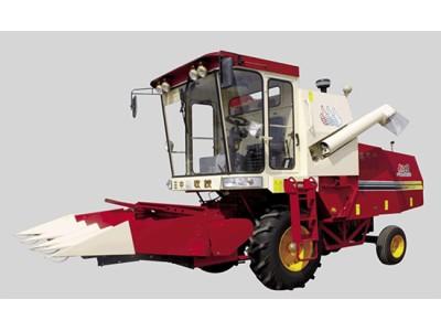 新三王4YZZ-4玉米收割机