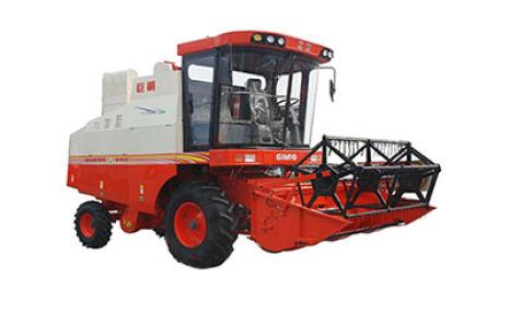 巨明4LZ-7.0轮式谷物联合收割机