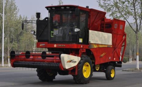 中聯收獲2018款4HZJ-2500自走式花生撿拾收獲機