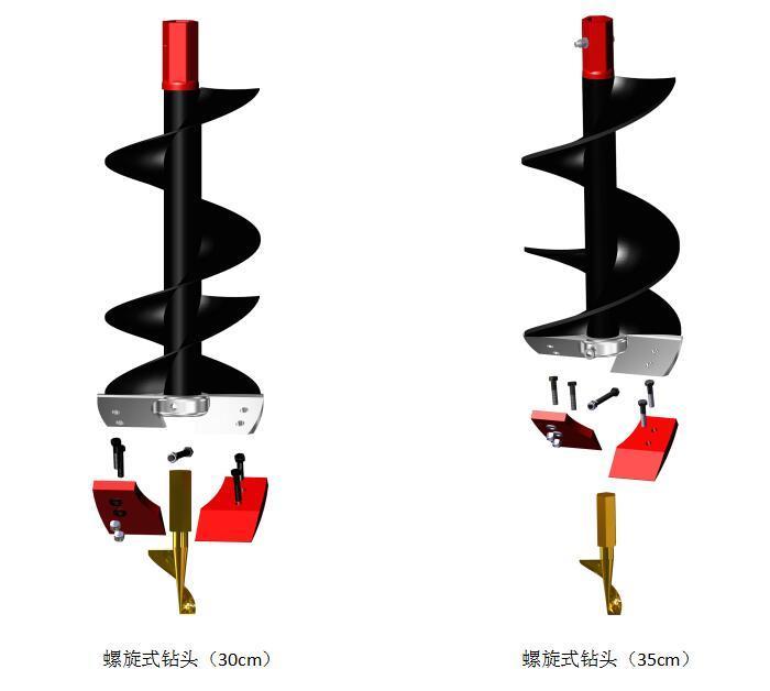 可根据作业环境更换不同的切削刀片和钻头