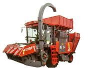 4YZQP-4型自走式穗莖兼收玉米收獲機