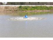 建超單相220V1.5KW塑料浮體涌浪式增氧機